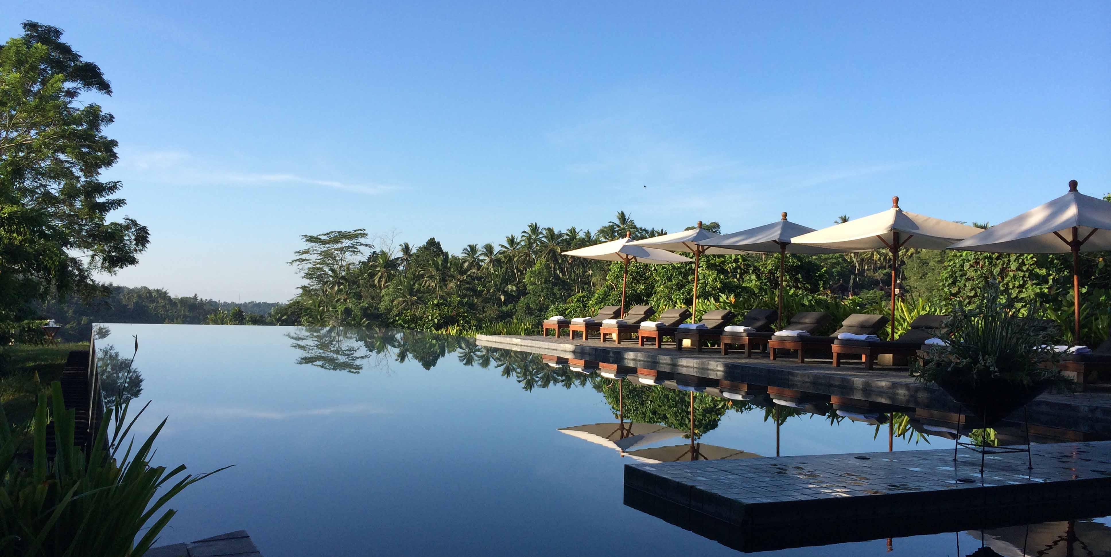 Lige netop dette sted i bjergene på Bali er valgt for dets unikke ro og skønhed, så du ikke skal tænke på andet end at træne Mindfulness og nyde omgivelserne.